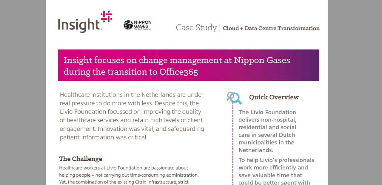 Casestudy: A scalable way of working with Nippon Gases