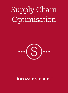 supply chain optimisation - innovate smarter logo icon