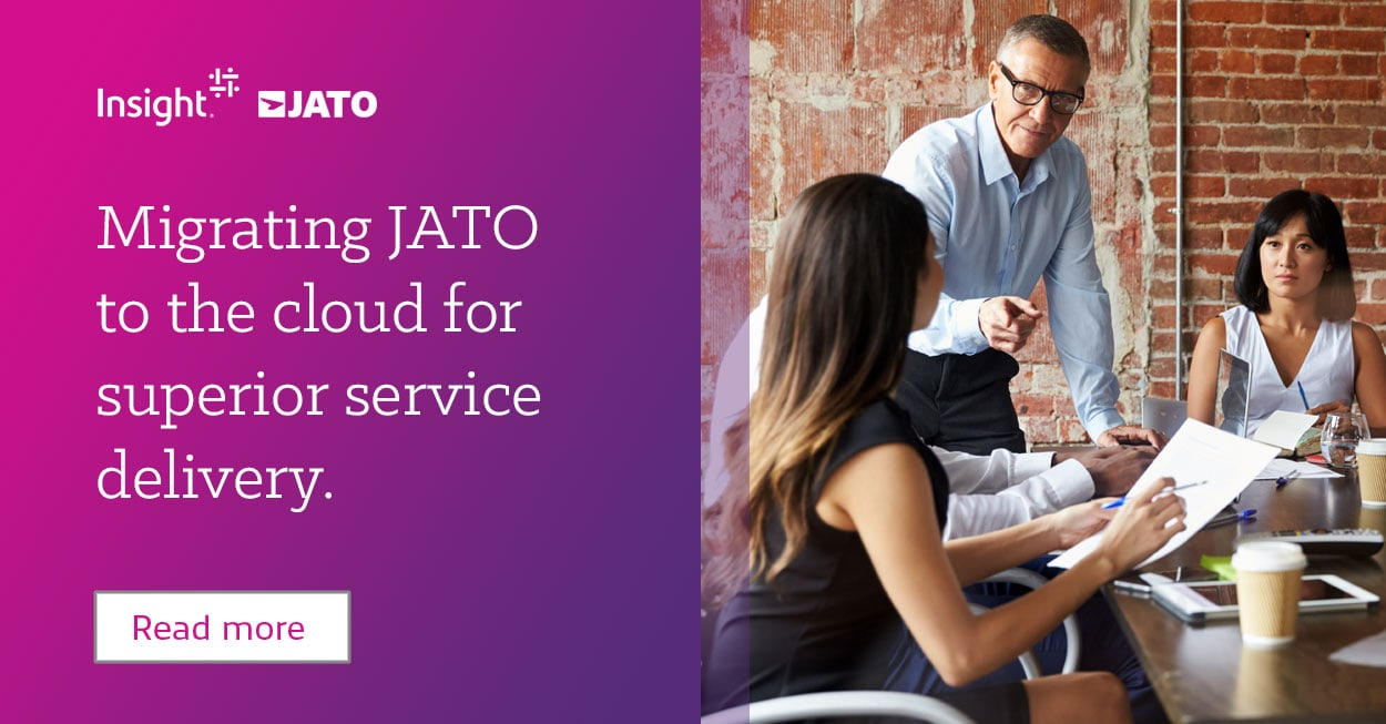 JATO Cloud case study