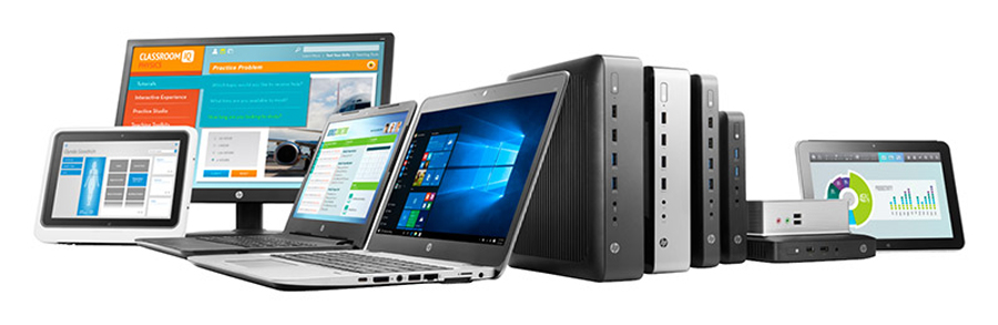 The latest HP Thin clients